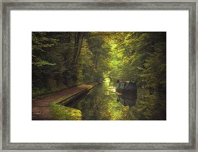 Peaceful Reflections Framed Print