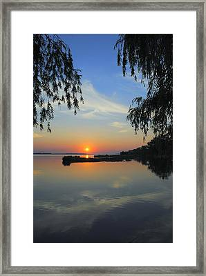 Peaceful Framed Print by Frozen in Time Fine Art Photography