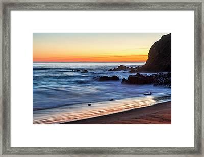 Peaceful Sea Framed Print