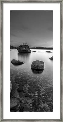 Peaceful Shores Framed Print by Brad Scott