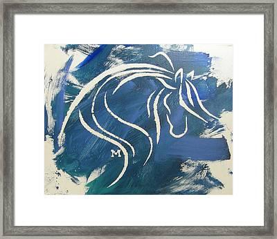 Peaceful Spirit Framed Print