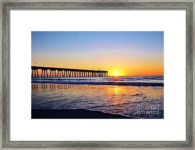 Peaceful Sunrise Framed Print