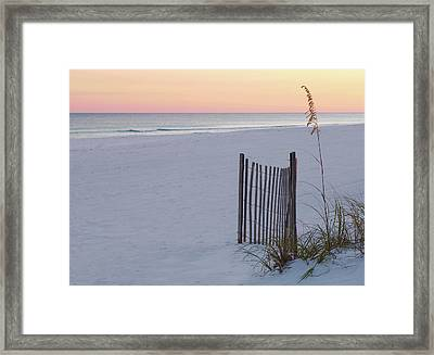 Peaceful Sunset Framed Print by Bill Chambers