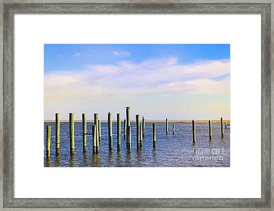 Framed Print featuring the photograph Peaceful Tranquility by Colleen Kammerer