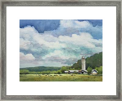 Peaceful Valley Framed Print