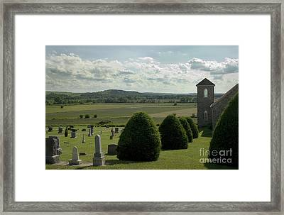 Peaceful View Framed Print by Fred Lassmann