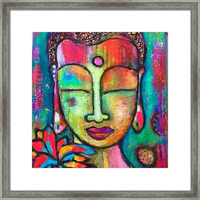 Peaceful Warrior  Framed Print