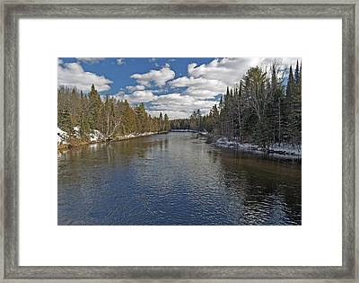 Peaceful Waters Framed Print by Michael Peychich