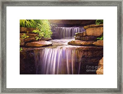 Peaceful Waters Framed Print