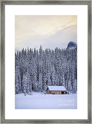 Peaceful Widerness Framed Print by Evelina Kremsdorf