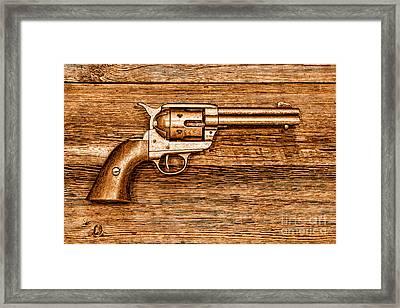 Peacemaker - Sepia Framed Print