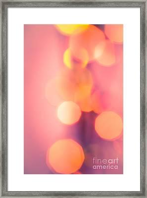 Peach Melba Framed Print by Jan Bickerton