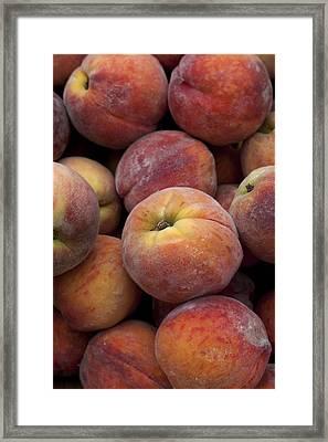 Peaches 2 Framed Print by Robert Ullmann