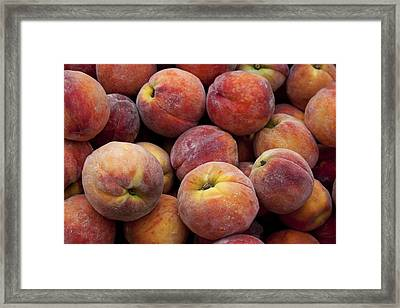 Peaches 3 Framed Print by Robert Ullmann