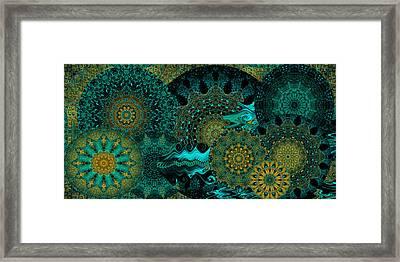 Peacock Fantasia Framed Print