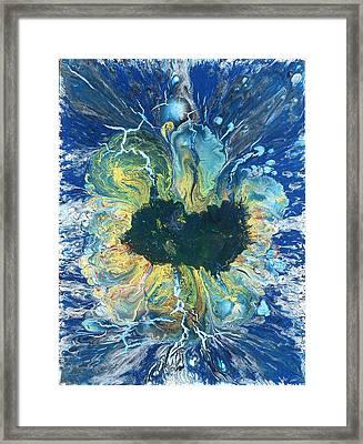 Peacock Nebula Framed Print