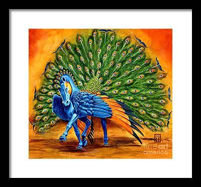 Pegasus Framed Prints