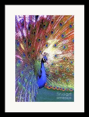 Iridescent Framed Prints