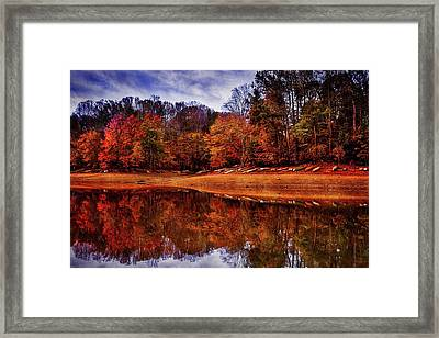 Framed Print featuring the photograph Peak? Nope, Not Yet by Edward Kreis