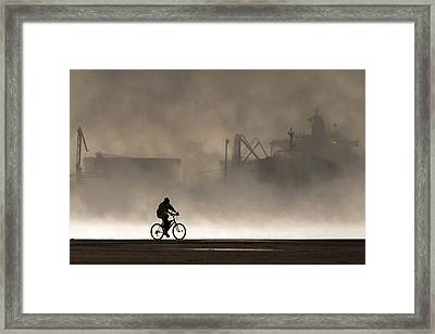 Peak Oil Framed Print