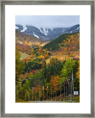 Peaked Framed Print by Mark Papke