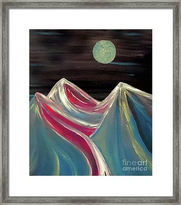 Peaks Of Solitude Framed Print
