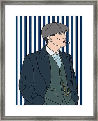 Peaky Blinders Framed Print by Nicole Wilson