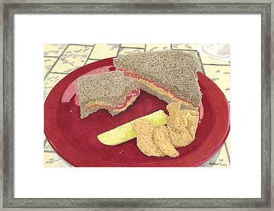 Peanut Butter And Jelly Framed Print by Will Kirkland