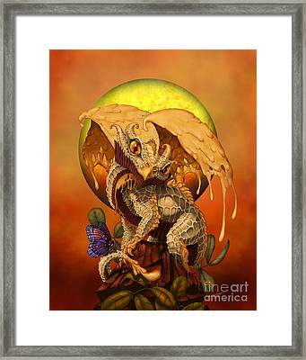 Peanut Butter Dragon Framed Print by Stanley Morrison