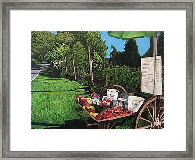 Peapack, Nj Framed Print