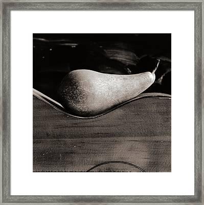 Pear #4745 Framed Print