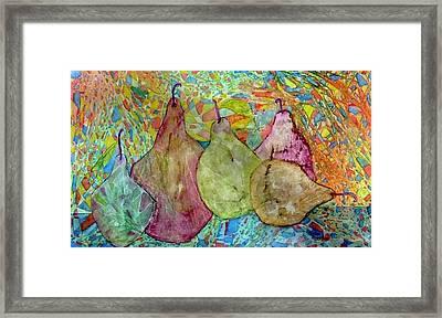 Pear-a-dice Framed Print