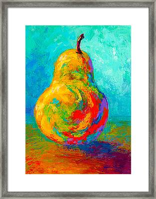 Pear I Framed Print