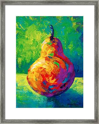 Pear II Framed Print by Marion Rose