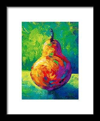 Pear Framed Prints
