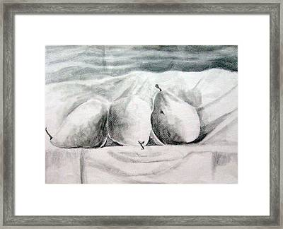 Pear Still Life Framed Print
