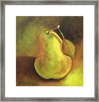 Pear Study  Framed Print