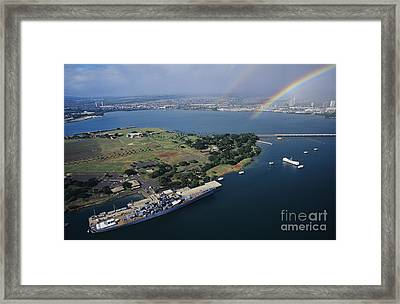 Pearl Harbor Framed Print by Tomas del Amo - Printscapes