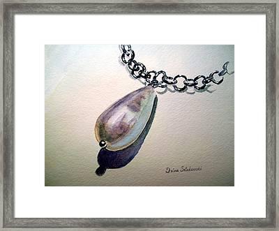 Pearl Framed Print by Irina Sztukowski