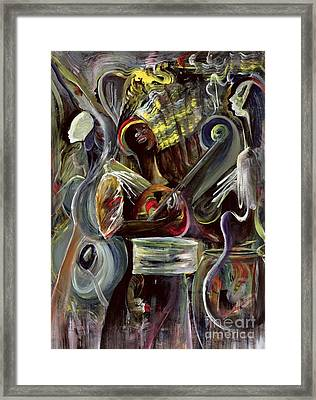 Pearl Jam Framed Print by Ikahl Beckford