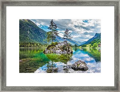 Pearl Of Bavaria Framed Print