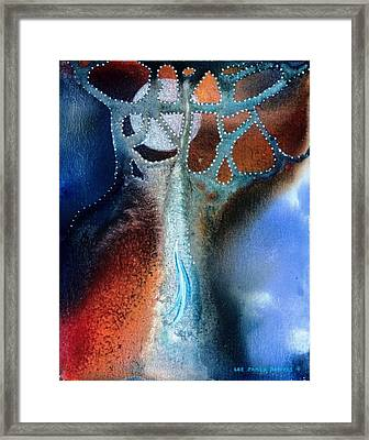Pearl Of The Orient Framed Print by Lee Pantas