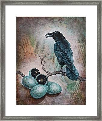 Pearl Of Wisdom Framed Print by Sheri Howe
