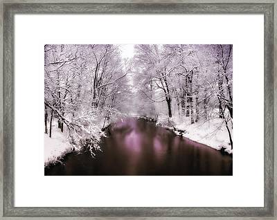 Pearlescent Framed Print