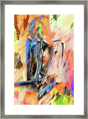 Pearls Framed Print by Naman Imagery
