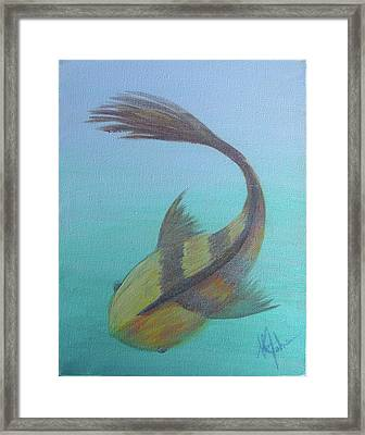 Pearly Fishy Framed Print