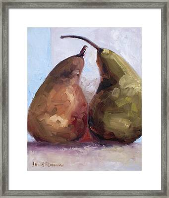 Pears Two Framed Print