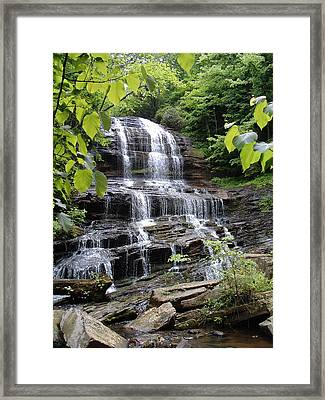 Pearson Falls Framed Print