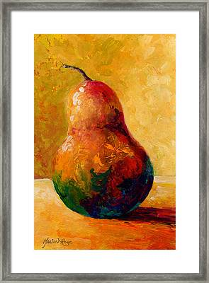 Pearsonality Framed Print by Marion Rose