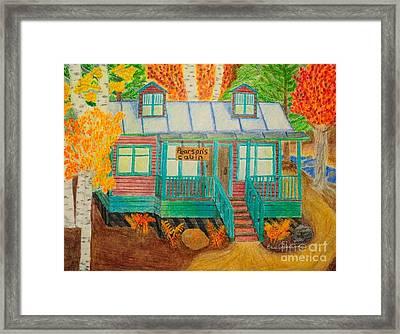 Pearson's Cabin Framed Print